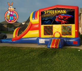 Spiderman Module 5 in 1 Waterslide Bouncehouse Combo